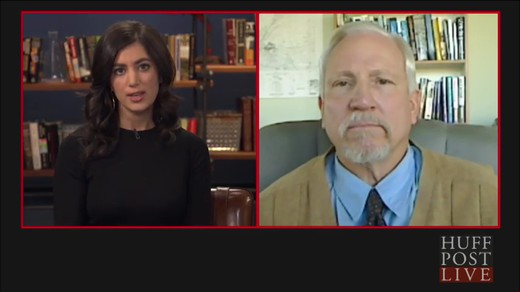 Huffingtonpost-live-meditation-against-terrorism Caroline Modarressy-Tehrani and Colonel Brian Rees