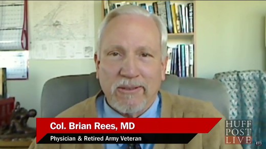 Huffingtonpost-live-meditation-against-terrorism_laughing-together Interview of Colonel Brian Rees