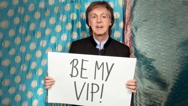 Paul McCartney Omaze 2017 pour la fondation david Lynch