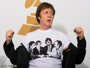 Red Nose Day T-Shirts by Stella McCartney Tue 03 Feb 2009 - Beatles News, Imagine All The People