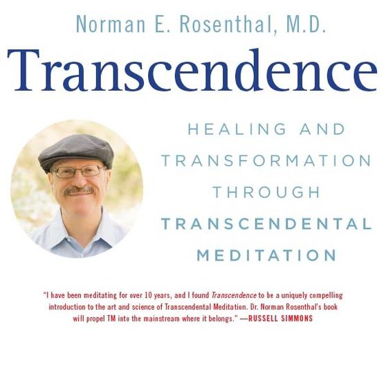Transcendence: Healing and Transformation Through Transcendental Meditation front collage