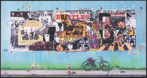 The Beatles Anthology Cover collage